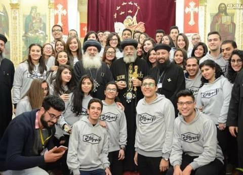 """بـ""""بركة الشهداء"""" كنيسة طنطا تحتفل بعيد الميلاد: """"الدماء تزين الجدران"""""""