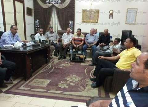 مساعد محافظ كفر الشيخ يبحث مواجهة التعدي على الأراضي الزراعية
