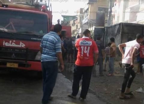 الحماية المدنية تسيطر على حريق نشب بمحول كهربائي في بني سويف