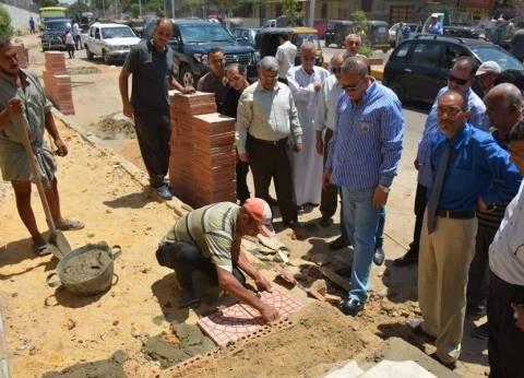 بالصور| محافظ الجيزة في جولة بإمبابة: المنطقة تشهد طفرة كبيرة