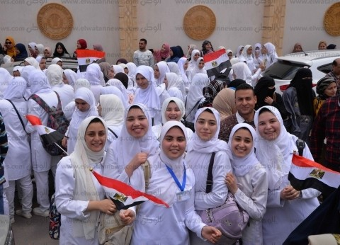 مسيرة تأييد للاستفتاء لصحة الدقهلية .. ومكي: رفع الطوارئ بالمستشفى