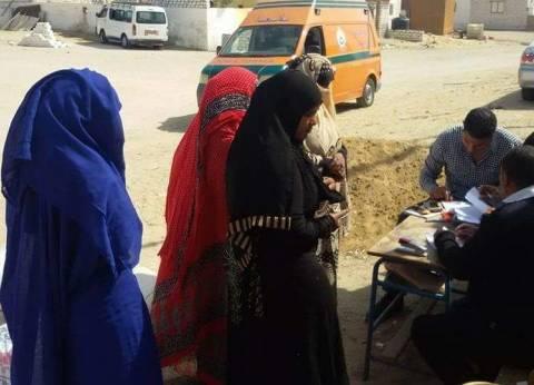 """مشاركة قوية للنساء في الانتخابات بقرية """"حماطة"""" في البحر الأحمر"""