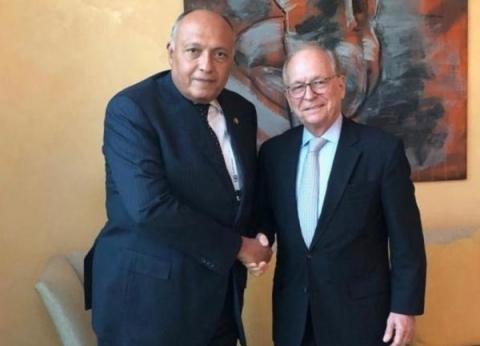 وزير الخارجية يعقد لقاء مع رئيس مؤتمر ميونخ للأمن