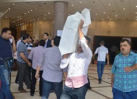القضاة يتسلمون أوراق ومظاريف الانتخابات في البحيرة