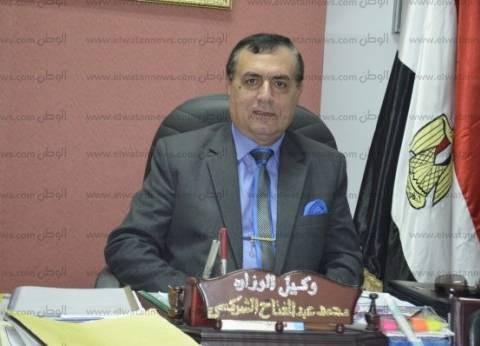 محافظ مطروح يكرم وكيل وزارة التربية والتعليم