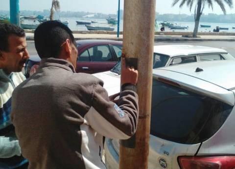 """""""كهرباء حي الجمرك بالإسكندرية"""" تستكمل أعمال الصيانة بنطاق الحي"""