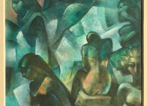 """السبت.. """"جاليري ضي"""" ينظم معرض استيعادي للفنان الراحل مصطفى مشعل"""