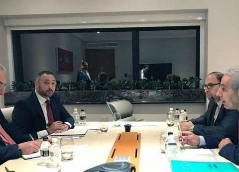 """قابيل يبحث مع """"الغرفة البرازيلية"""" تعزيز العلاقات التجارية والاستثمار"""