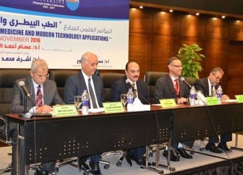 """نائب جامعة الإسكندرية مؤتمر """"الطب البيطري"""" يهدف للتعاون مع الجامعات في مصر"""