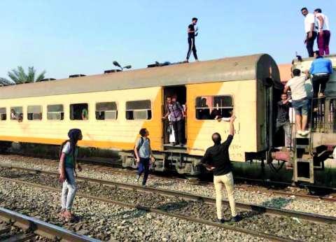 النيابة تحقق في مصرع أسرة كاملة أسفل عجلات قطار بالبدرشين