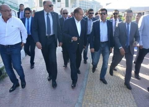 وزير الشباب والرياضة يتفقد مشروع الدراجات بهيئة ستاد القاهرة
