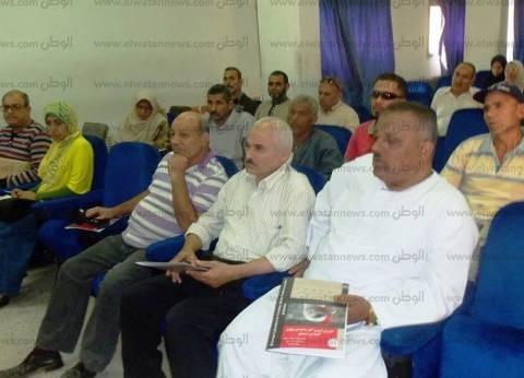 """""""بيطري الشرقية"""" تناقش الإعداد لحملة التوعية والتحصين ضد الحمى القلاعية"""