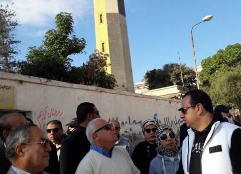 محافظ بورسعيد ولجنة التراث يتفقدان المناطق الأثرية