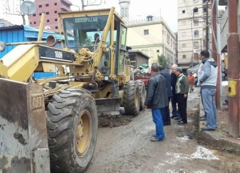 تحرير 398 محضر إشغال وإزالة بمدينة أسيوط خلال أسبوع