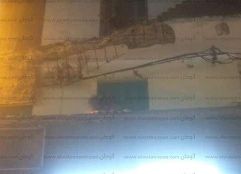 بالصور| إصابة 4 أشخاص إثر سقوط شرفتي عقار غرب الإسكندرية