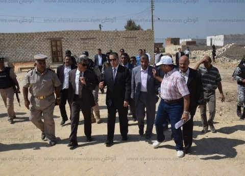بالصور| محافظ بني سويف ومدير الأمن يشرفان على إزالة التعديات على أملاك الدولة