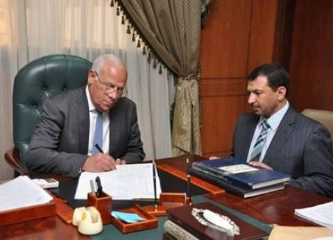محافظ بورسعيد يهنئ الشعب المصري بالذكري الـ35 لتحرير سيناء
