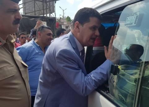 استمرار جولات مسؤولي محافظة الإسكندرية لتفقد تعريفة أجرة الميكروباص