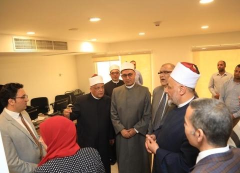"""أمين """"البحوث الإسلامية"""" يبحث خطة العمل المستقبلية بالمجمع"""