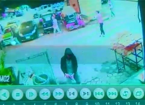 """أول فيديو للحظات خطف وقتل """"الدمس"""" صاحب معرض حدائق القبة"""