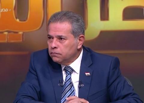 توفيق عكاشة يتوقع: مصر ستتعرض لضغوط شديدة الأيام المقبلة