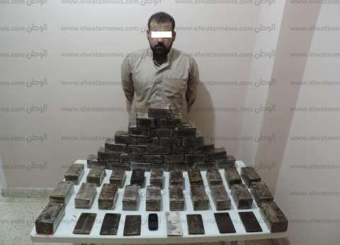 """""""مكافحة المخدرات"""": ضبط 422 ألف قرص مخدر و39 كيلو حشيش خلال أسبوع"""