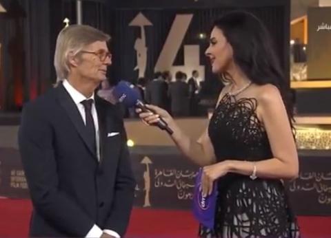 """رئيس لجنة تحكيم """"القاهرة السينمائي"""": أتمنى زيارة الأهرامات والمتاحف"""