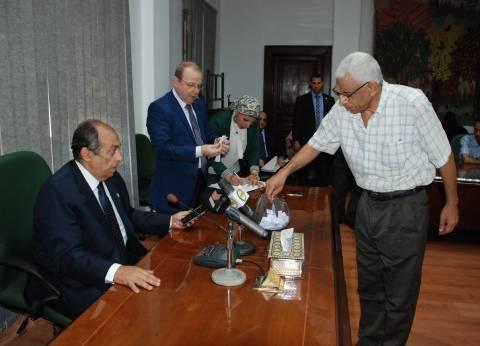 غدا.. وزير الزراعة في الغربية لتفقد مركز البحوث الزراعية بقرية الجميزة