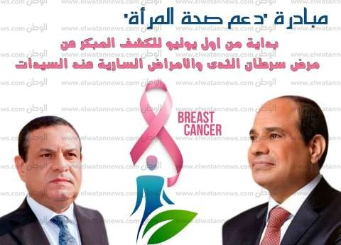 فحص 40 ألف سيدة بمبادرة دعم صحة المرأة المصرية بالبحيرة