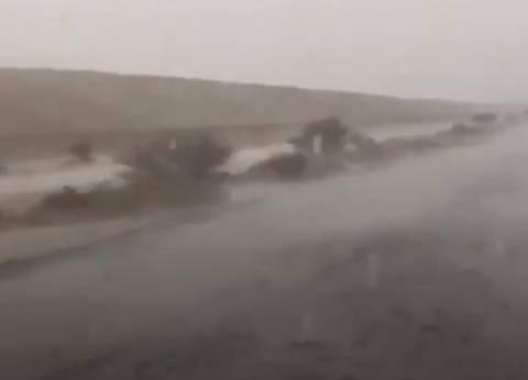 عاجل| سقوط أمطار رعدية في أسوان