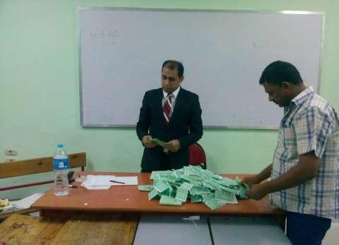 غلق باب التصويت وبدء فرز الأصوات في لجان المنيا
