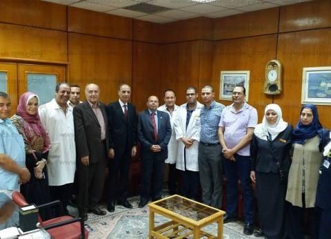 لجنة إدارة الجودة والاعتماد بوزارة الصحة تزور مستشفى التأمين بالمنصورة