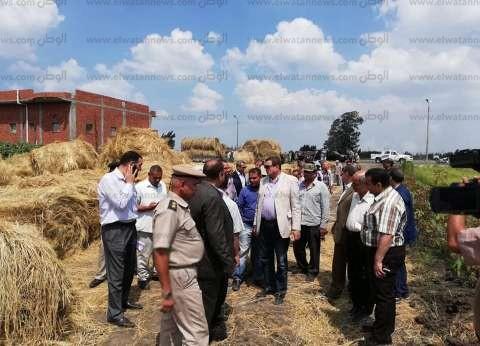 """رئيس شؤون البيئة يطلب تحرير محضر لمواطن حرق """"قش الأرز"""""""