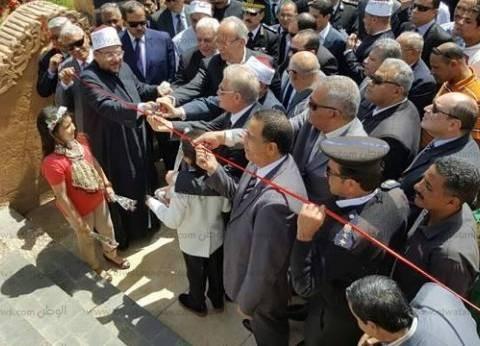 بالصور| تفاصيل افتتاح وزير الاوقاف لمسجد الصحابة في شرم الشيخ