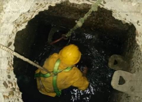 """""""مياه القناة"""" تنفذ حملة لتطهير شبكات الصرف بنطاق حي ثاني الإسماعيلية"""