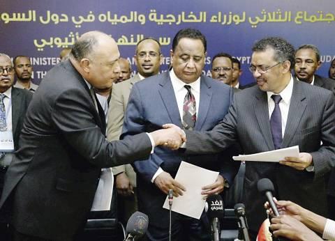 مصر ترفض اتهامات السودان: «إفلاس سياسى» و«شكرى»: تحصلون على حصتكم من مياه النيل كاملة