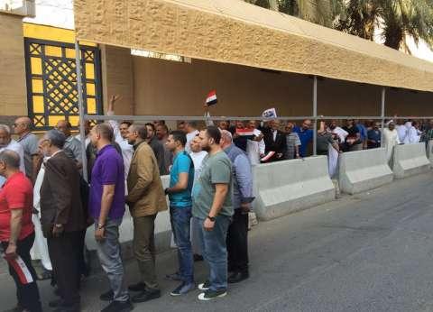 بالصور| إقبال كبير من المصريين بالسعودية على التصويت في الانتخابات