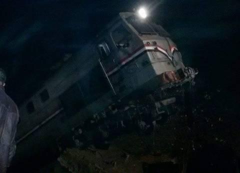 عاجل| مدير أمن بني سويف: حادث القطار ناتج عن خطأ من السائق