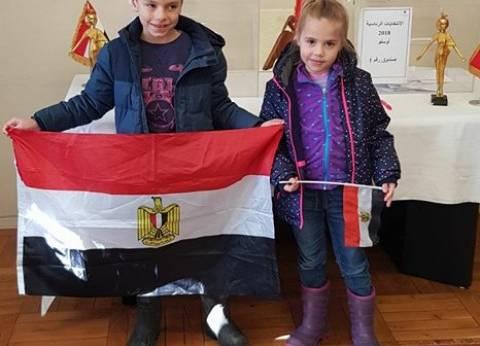 """""""اتحاد المصريين في الخارج"""" يشيد بـ""""ملحمة التصويت"""": صورة حضارية لمصر"""