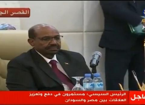 عمر البشير: نمضي بخطى واثقة لإكمال مشروعات النهضة
