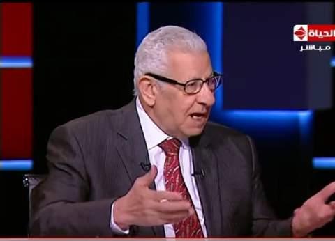 مكرم محمد أحمد: الشعب لا يثق في السلفيين.. وزيادة الأسعار وراء عزوف الناخبين