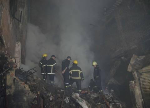 """""""الحماية المدنية"""" تسيطر على حريق شب بمصنع في عزبة الأرنطة بالقليوبية"""