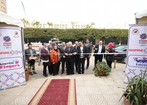 رئيس جامعة القاهرة يفتتح أول معرض لريادة الأعمال باقتصاد وعلوم سياسية