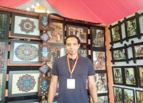 «حمودة» يحول فن «التجسيم والبروز» إلى مشروع وطنى