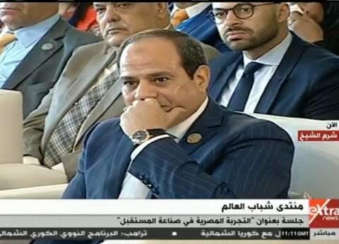 """السيسي: """"الأمن الوطني بيقولي متقولش المشاكل للمصريين.. بس لأ هقول"""""""