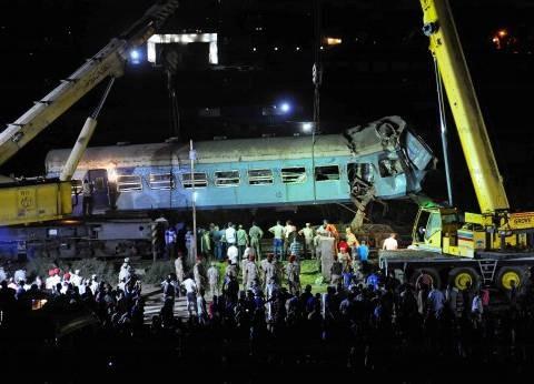 النائب العام يأمر بتشكيل لجنة سباعية لتحديد المسئولين عن تصادم قطارى الإسكندرية