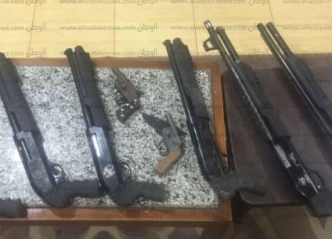 حملة مكبرة لمديرية أمن القاهرة على تجار السلاح