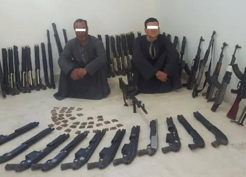 القبض على عاطل بتهمة حيازة سلاح ناري غير مرخص في مدينة نصر