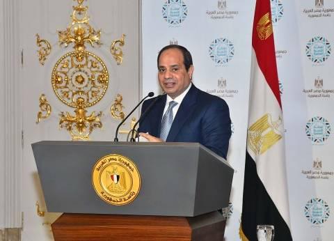 السيسي: أعترف بأن إجراءات الإصلاح الاقتصادي كانت قاسية جدا