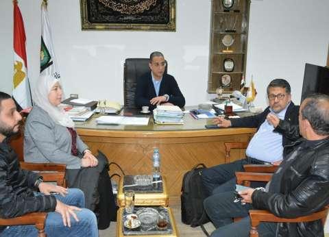 """محافظ سوهاج يستقبل وفدا من """"تروس مصر للتنمية"""""""